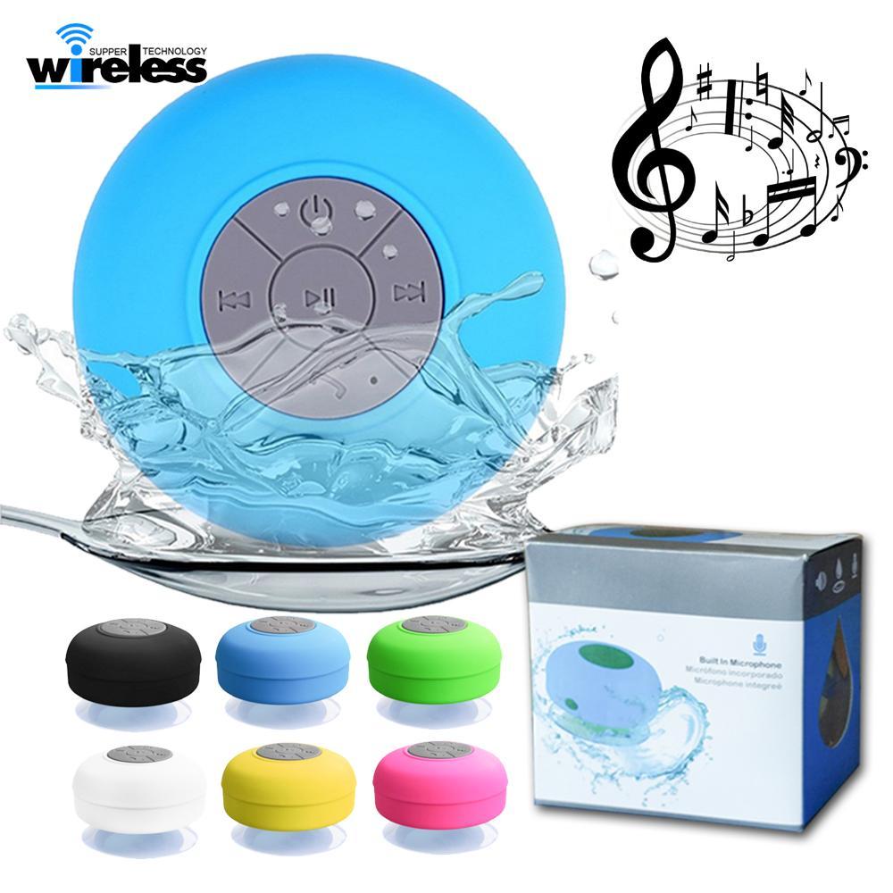 Portable Shower Speaker Waterproof Wireless Bluetooth Speaker Car ...