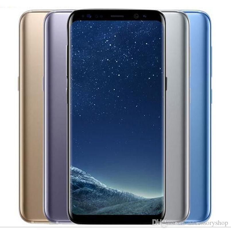 Refurbished Original Samsung Galaxy S8 S8 Plus G955F G955U 4G 6 2 inch Octa  Core 4GB RAM 64GB ROM 12MP 3500mAh Smart Phone DHL 1pcs