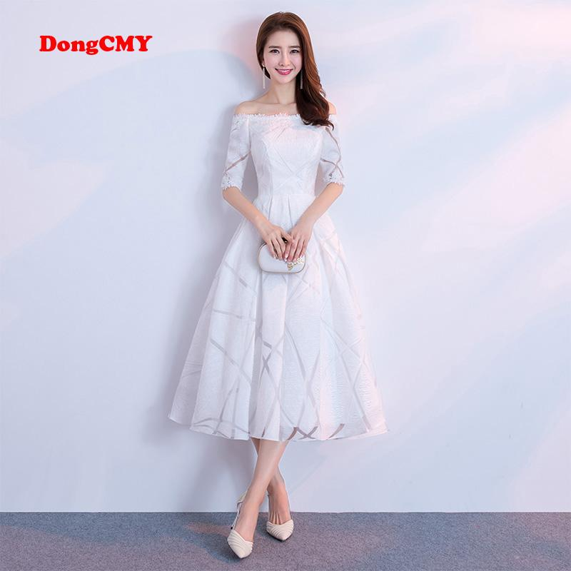 e261ae54ed0 DongCMY 2018 New Arrival Celebrity Dresses Short Women White Color Party Dress  Gown Online Shopping Party Dresses Party Black Dresses From Dannyyi
