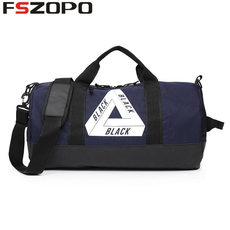 2019 Waterproof Men Sports Gym Bags New Leisure Yoga Fitness Bag Women  Travel Handbag Training Duffle Bag From Fwuyun 7182dd0fa59fc