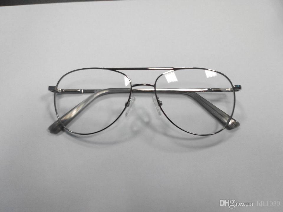 48cd4ff8c9 Eyeglass Frame Silver Funny Japanese Korean Style Fashion New Brand
