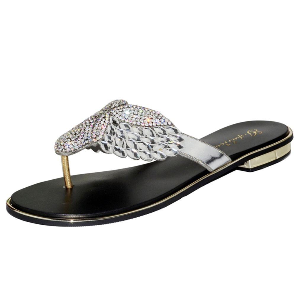 c764a23c1 2018 Fashion Popular Slippers Women Shoes Genuine Leather High Quality  Heels Rhinestone Female Slippers Women Sexy Dress Shoes Womens Ankle Boots  Ladies ...