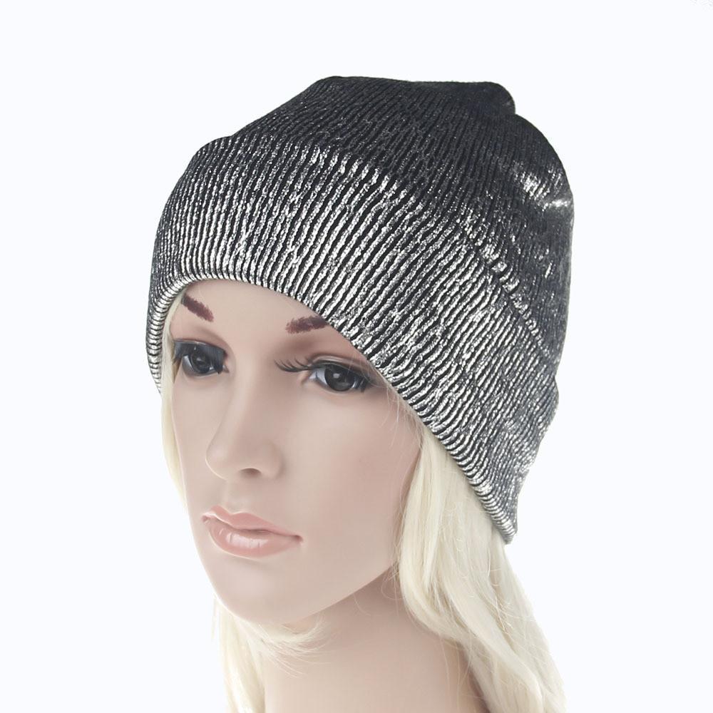 1511f8ee6fbcd Cap Girl Winter Fashion Hat Blended Knitted Female Hat Women ...