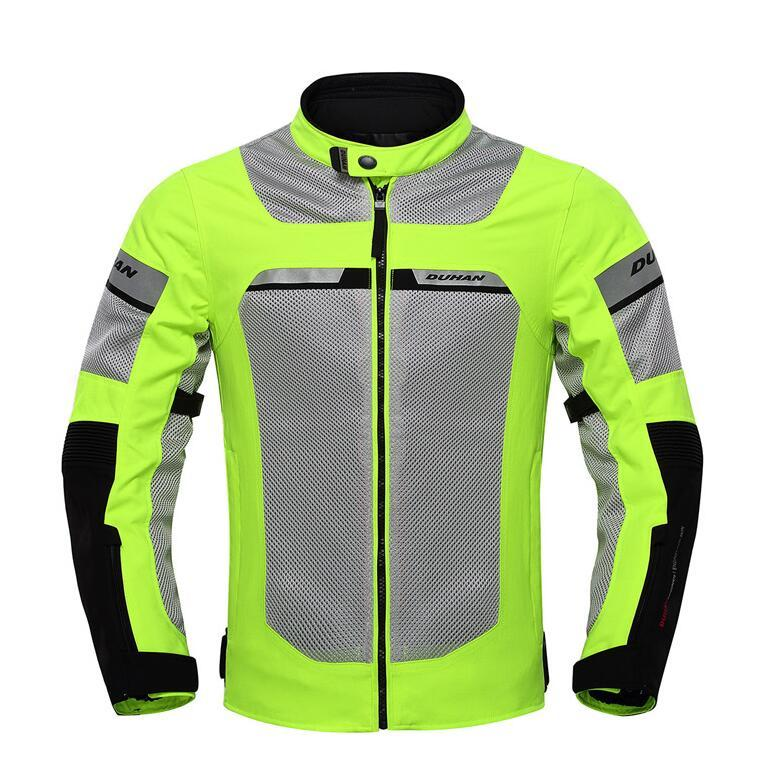 514d5d5d54b Compre Chaqueta De Lluvia Para Motociclista Con Forro Impermeable  Totalmente Desmontable Motocicleta De Motocross Transpirable Para Moto De  Verano DUHAN A ...