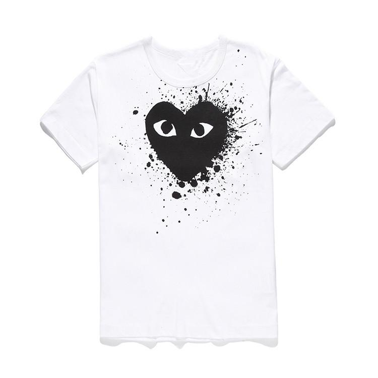 823f999098 Mens Designer T Shirts COMMES PLAY Japanese Heart T-shirt DES ...
