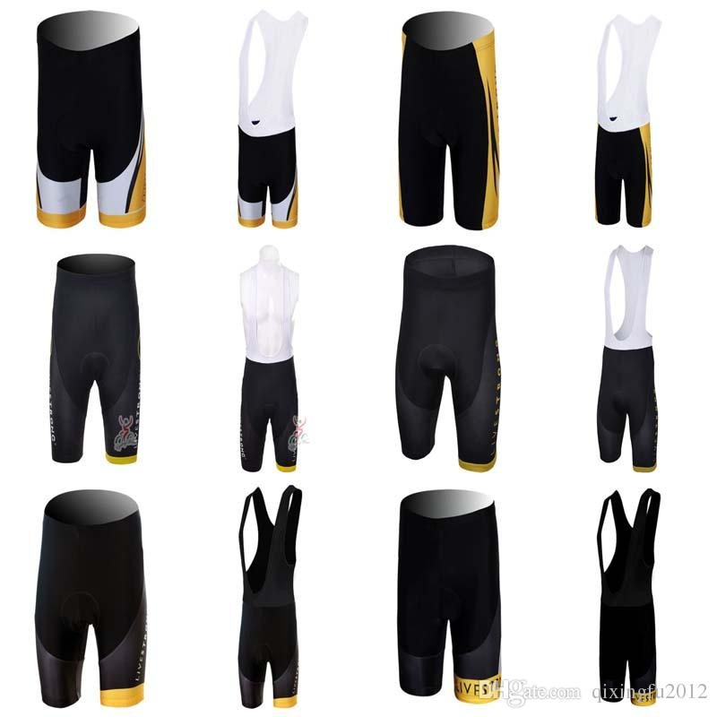 2018 Livestrong Gel Filled Riding Shorts Spring Ropa Ciclismo Bike ... 0c0193cdf