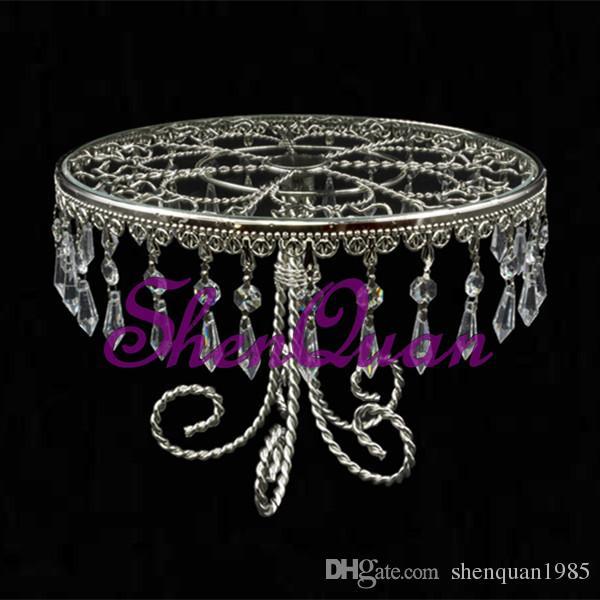 / log, bandeja de postre redonda de buen precio con cuentas de vidrio para decoración del hogar, bandejas decorativas para boda india
