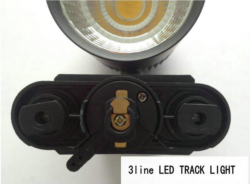 2line 3line 4line LED Track Light 35W CREE Rail Ceiling pendant Track Lighting Spot Commercial and Residential Clothes Shop Lamp