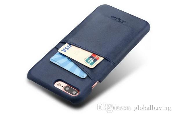 BYL BW05 Handset shell anti cartão de queda derme tampa de proteção coleção de cartões shell couro iphone8 por trás da shell