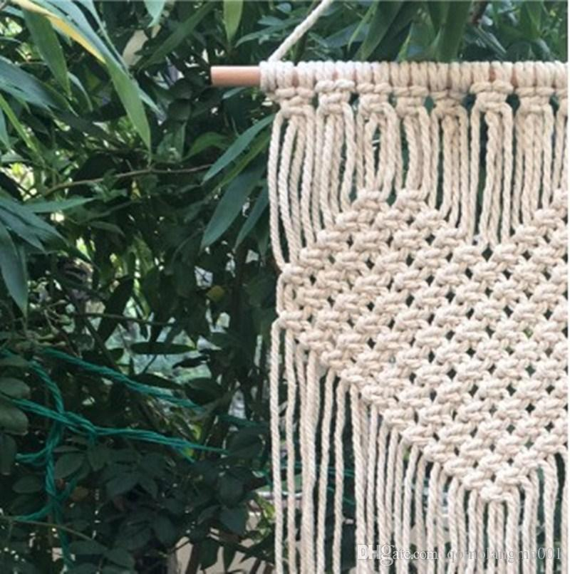 손으로 뜨개질을하는 보헤미안 태피스트리 홈 벽 장식 장식 용품에 대 한 사랑 하트 패턴 태피 스 트리 뜨거운 판매 21 5cm CB