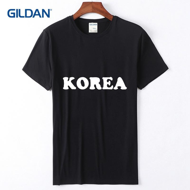 5f10a50e3 Concert Tee Shirt 2018 I Love Korea Best Awesome Coolest Country Tees Men  Sale Cotton Simple Popular T Shirt For Guys Cool Tee Funny Graphic T Shirts  From ...