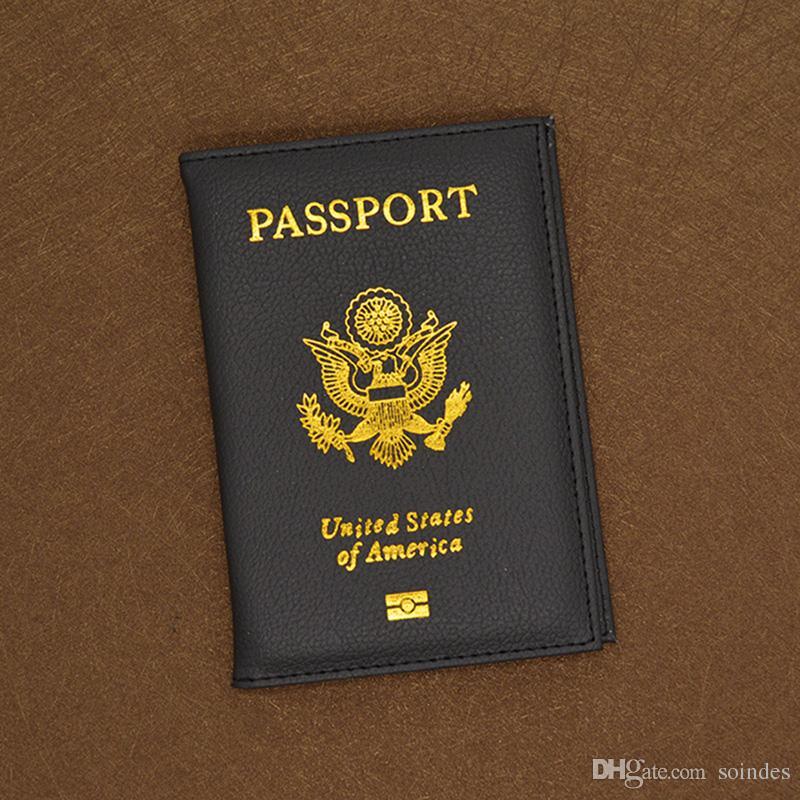 لطيف بو الجلود الولايات المتحدة الأمريكية غطاء جواز سفر الوردي المرأة حامل بطاقة جواز سفر المحفظة الأمريكية يغطي لجوازات السفر جوازات السفر أمريكا الفتيات