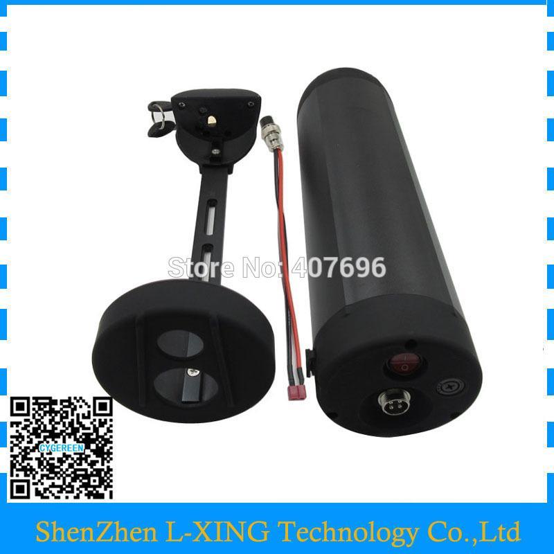 36V 10AH 12AH 13AH 15AH Custodia bottiglia Alloggiamento batteria agli ioni di litio batteria bici elettrica