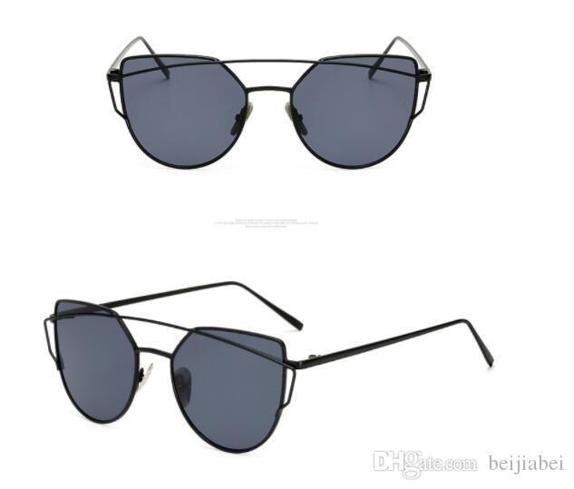 38d61e0d7ba New Sunglasses For Sun Eyed Fashion Ladies Hipsters Sun Glasses Free  Shopping Polarized Sunglasses Sunglasses For Men From Beijiabei