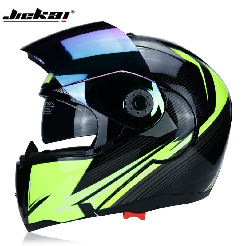 356cda39 New Arrival JIEKAI 105 Safety Flip Motorcycle Helmet With Internal Sun Visor  Everyone Afable Twin Lens Motorcycle Helmet Shoei Motorcycle Helmets Shorty  ...