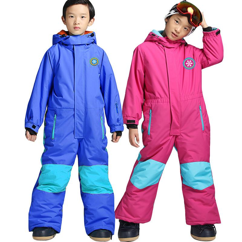 71075e947 2019 Kids Ski Suit Children Brands Windproof Waterproof Warm Girls ...