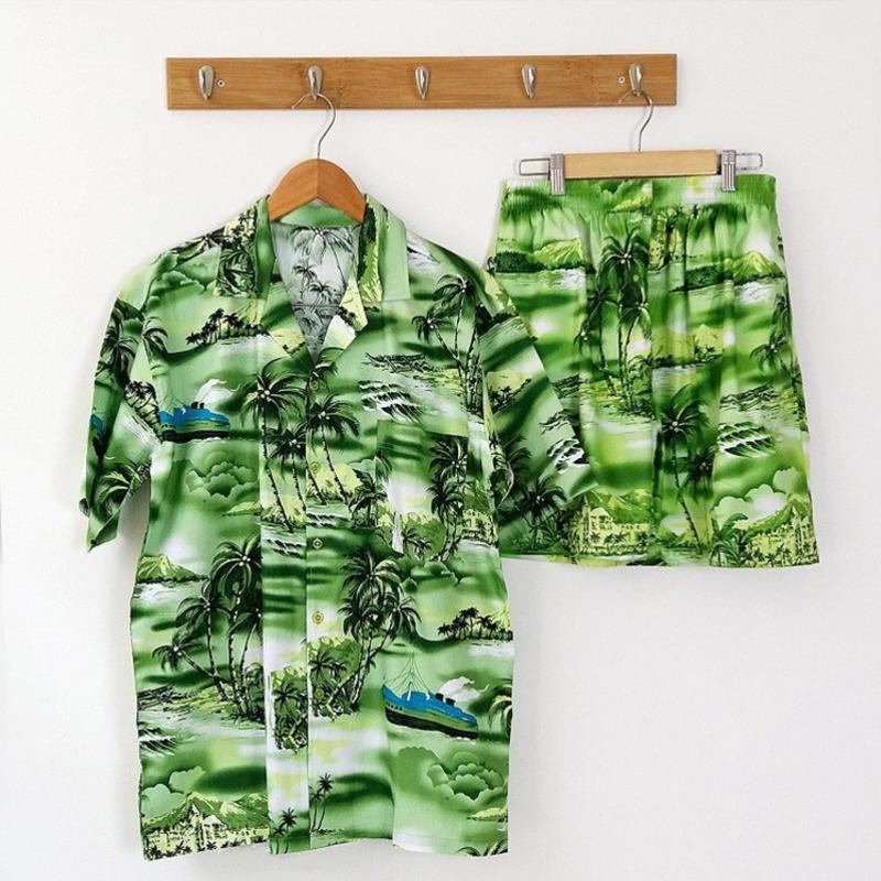 f34fff28 2019 FDWERYNH Set Hawaiian Style Men'S Shirts And Shorts Summer 3d Print  Sweatpants Trousers Tuxedo Shirt Camisa Masculina From Begonier, $46.95 |  DHgate.