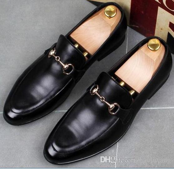 Hombres Para Cuero Frijoles Zapatos De Casuales Compre 1xwFXp a9f2c08faa19a