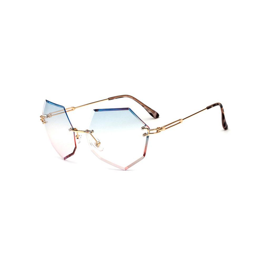 fc6356da0f Compre Corazón Sin Marco Gafas De Sol Diamante Gafas De Sol 2018 Nuevas  Gafas De Sol Para Hombre Metal Mujer Sombra Outdorr Gafas 5530OLO A $15.23  Del ...