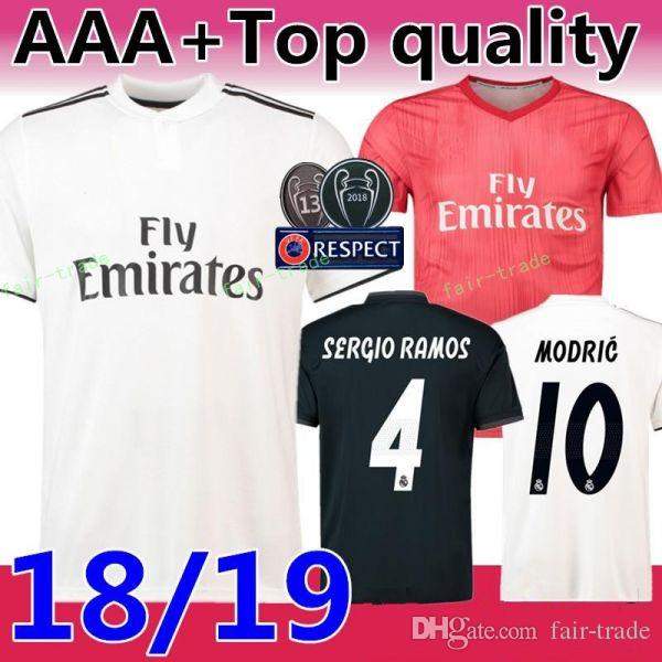 2019 FC Real Madrid La Liga Soccer 8 TONI KROOS Jersey Men 9 BENZEMA 12  MARCELO 17 VAZQUEZ 2 CARVAJAL Football Shirt Kits Uniform From Fair Trade cd3aebc77