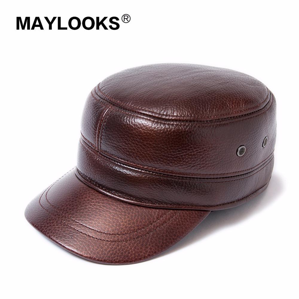 2018 New 6 Panels 100% Leather Baseball Caps Men Black Sheepskin Leather  Hats For Men Snapback Caps CS135 Snapback Cap Cool Hats From Xiamenwatch 9ac98753166