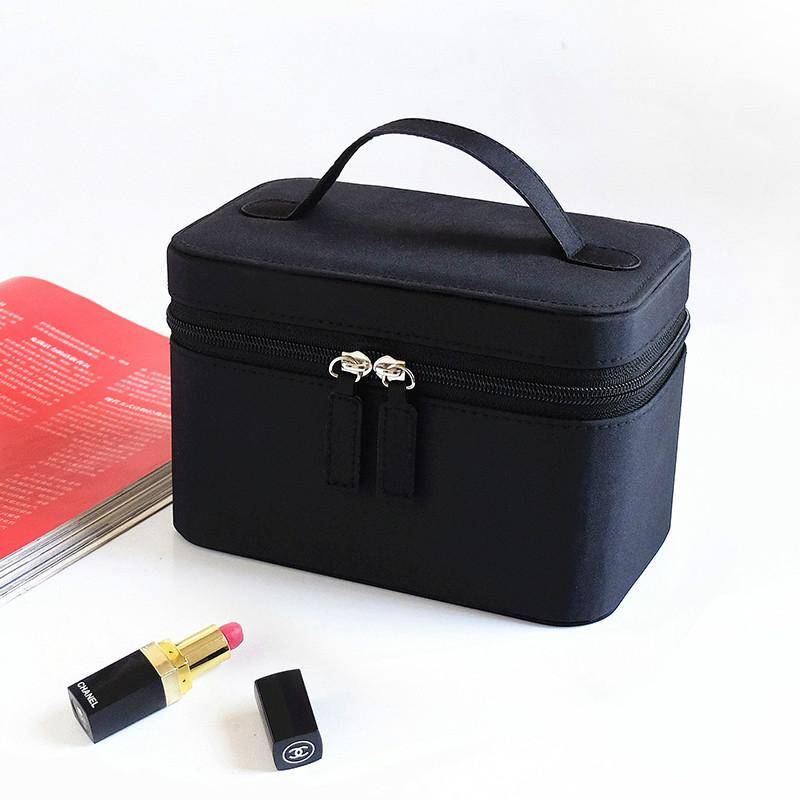 Cosmetic Bag Make Up Bags Travel Makeup Bag Square Bow Striped Beauty Case Best Gift Girls Zipper Storage Pouch Organizer Bag Buy Makeup Online Cheap Makeup ...