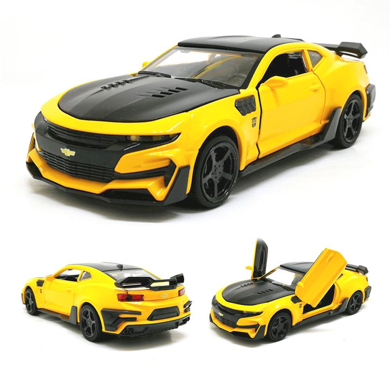2019 1 32 Hot Camaro Alloy Diecast Car Models Door Open Super Hornet