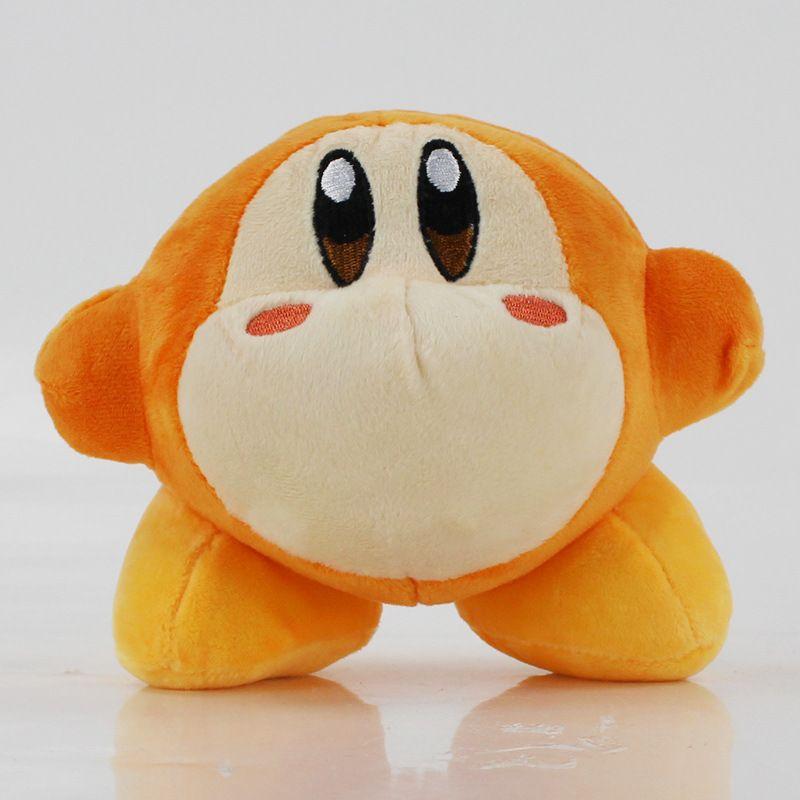 Высокое качество 100% хлопок 3 стиль 5.5 дюймов 14 см Кирби плюшевые игрушки для детей праздничные подарки оптом