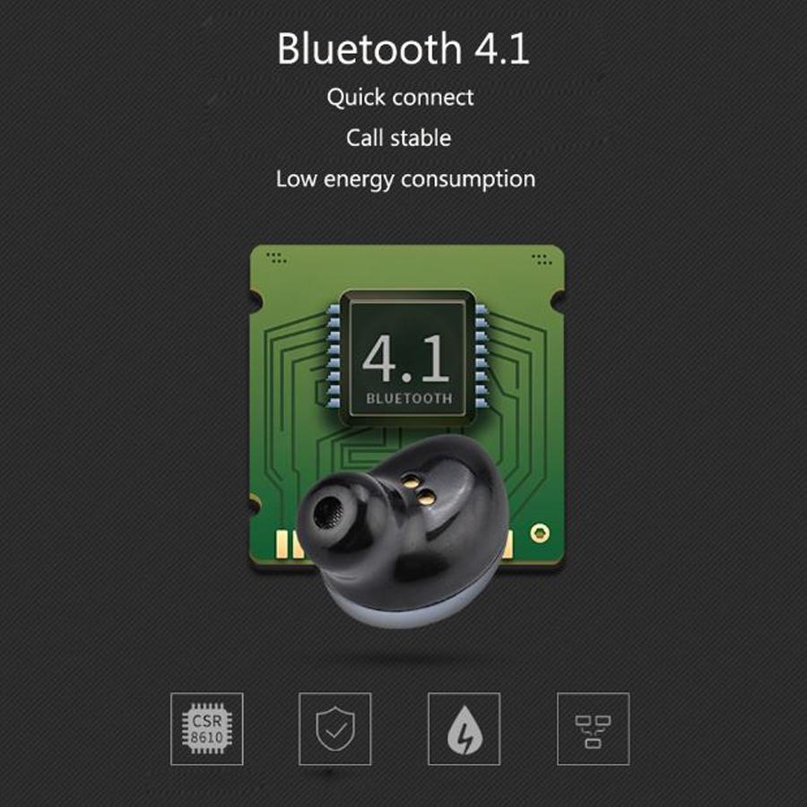 Magnetic Charging Bluetooth Earphone M18 Mini Sports Wireless Earpiece Bluetooth Stereo Headset with Base for IOS Android with package