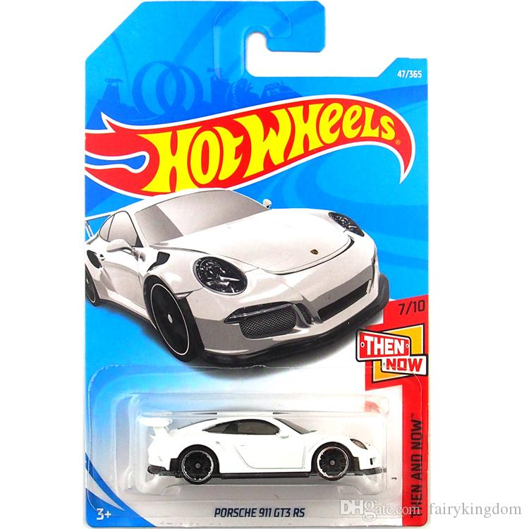 2019 Hot Wheels White Porsche 911 Gt3 Rs Car Model Toy 47 From