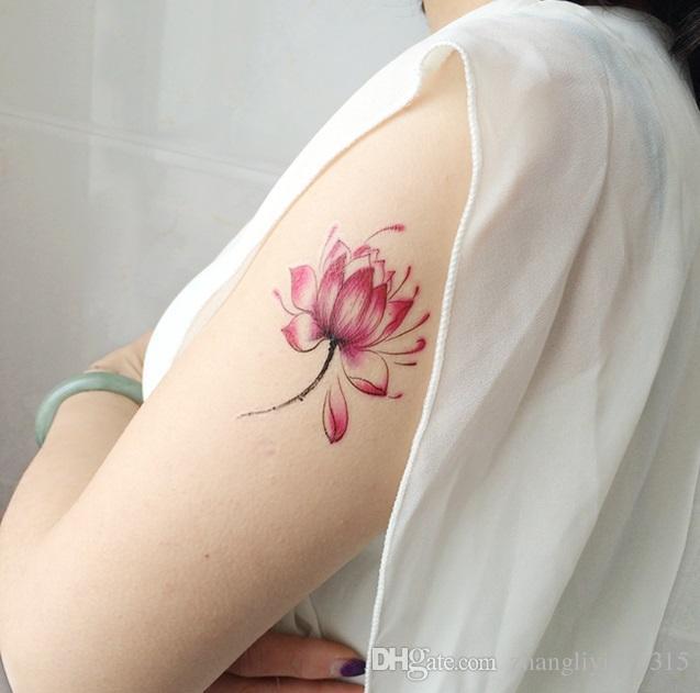 Acheter Autocollants Colores De Tatouage De Henne De Femmes Collent