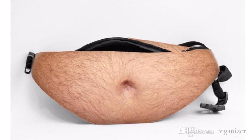 Uomo Donna Moda Papà Bod Bag Divertente Birra Pancia Tasca Vita Borse Caso Sport Vita Dadbag Borsa 300 pezzi