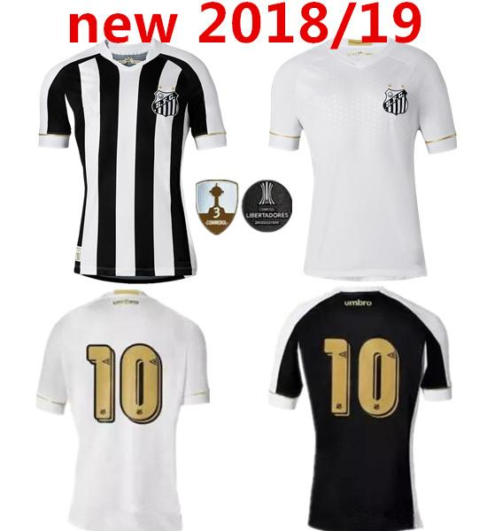 0f60f03da 2019 2018 2019 Santos FC Soccer Jersey 18 19 Santos Home Away Gabriel  RODRYGO DODO RENATO SASHA Football Shirts From Movement999