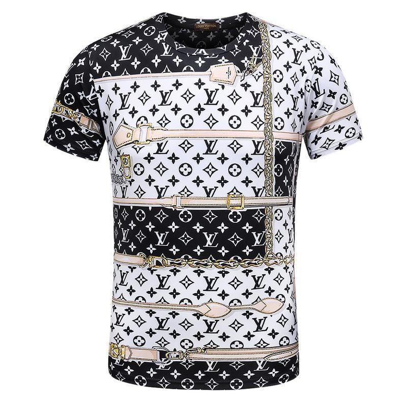 2019 New Hip Hop G& G Winter Mens T Shirt Short Sleeve 100 ...
