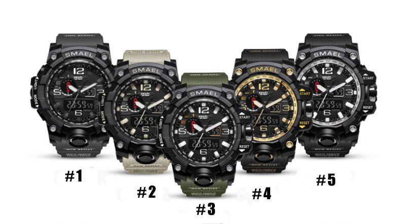 2018 Smeers neue wasserdichte Uhr der Farbe 10 Nachtlicht, Weckermode-Multifunktionsuhr der elektronischen Uhr Paare