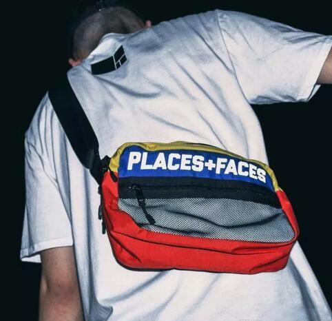 867db5f8bf1f Brand Places+Faces 3M Reflective Skateboards Bag P+F Message Bags Casual Men  And Women Hip-hop Shoulder Bag Mini Mobile Phone Packs