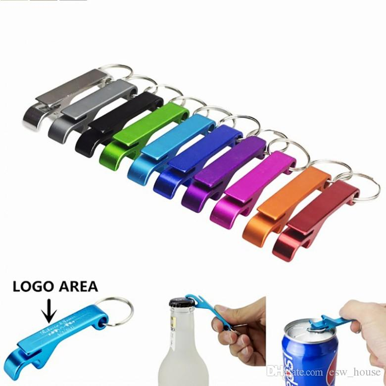 Cep Anahtarlık Bira Şişe Açacağı Pençe Bar Küçük İçecek Anahtarlık Halka logosu Ücretsiz gönderim yapabilir