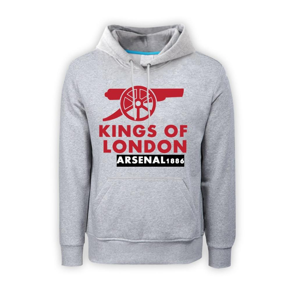 4a1fae843 2019 1886 Jackets Men Pullover Hoodie Fashion Sweatshirts Clothing Gunner  Kings Of North London Is Red Hoodies Boys Fc Hoody From Lookpack