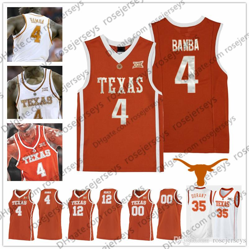 fe34c9bec07 ... jersey df9fb 1bb10  cheap online cheap custom texas longhorns college  basketball orange white stitched any name number 4 mohamed