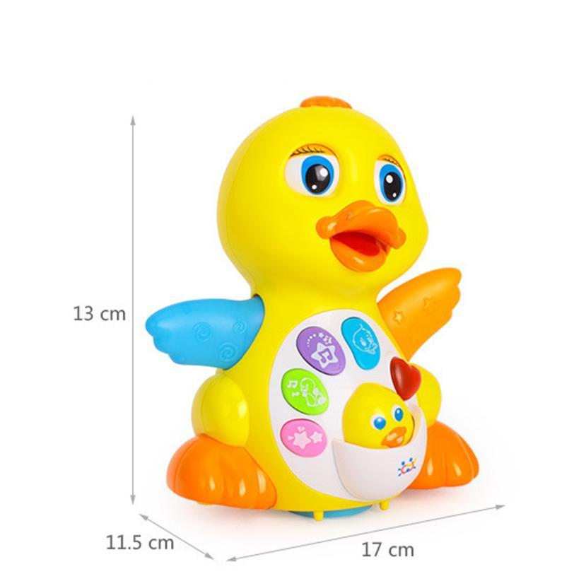 Yellow Duck Infant Electrical Universal Toy For Children Kids ...