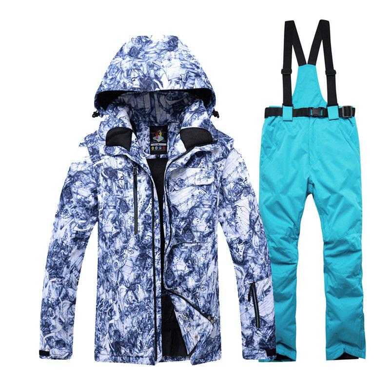 -30 Warm Adult Snow Suit Specially Mens Snowboarding Sets Waterproof  Windproof Ski Suit Sets Jackets And Bib Pants Best Ski Snowboarding Sets  Cheap ... 06ecdbf02