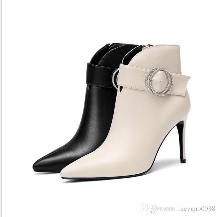 Großhandel 2018 Neue Winter Mode Frauen Frauen Mode Mode Stiefel Arbeit Schuhe ... a415ad
