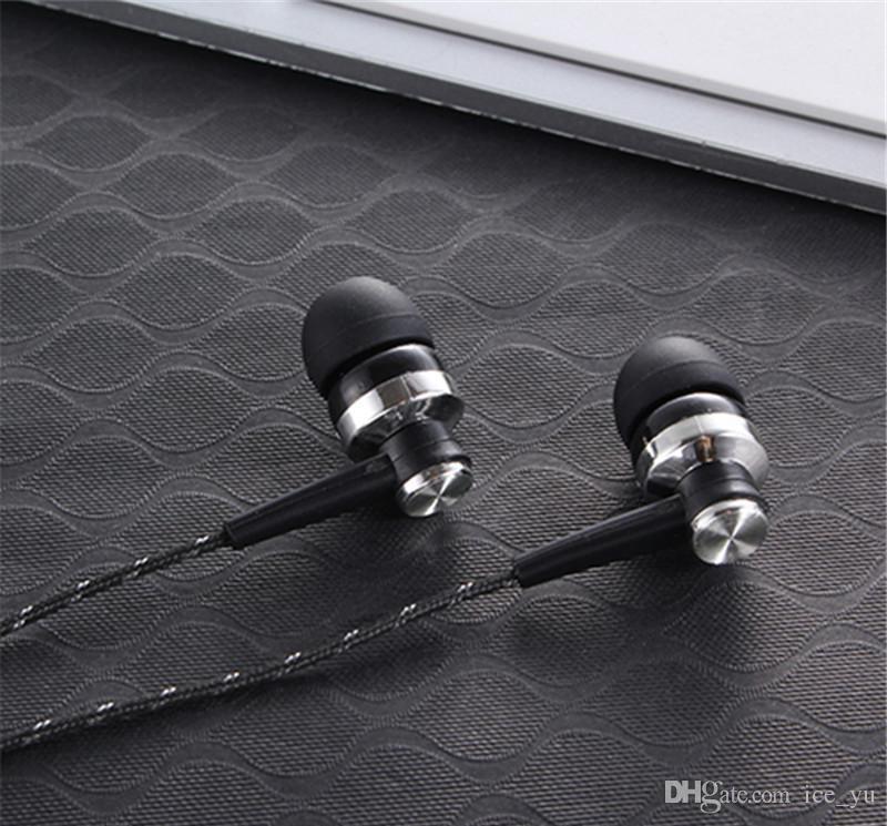 أرخص 3.5MM التوصيل سماعة MP3 MP4 سماعة إلغاء الضوضاء للهاتف MP3 MP4 DHL شحن مجاني