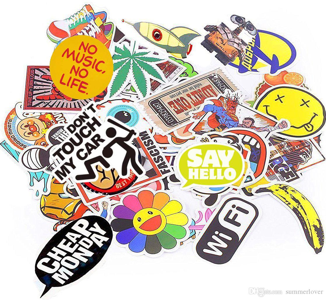 Vintage Motor Bike Vinyl Sticker Pack Decals & Stickers Other Adhesives & Tape