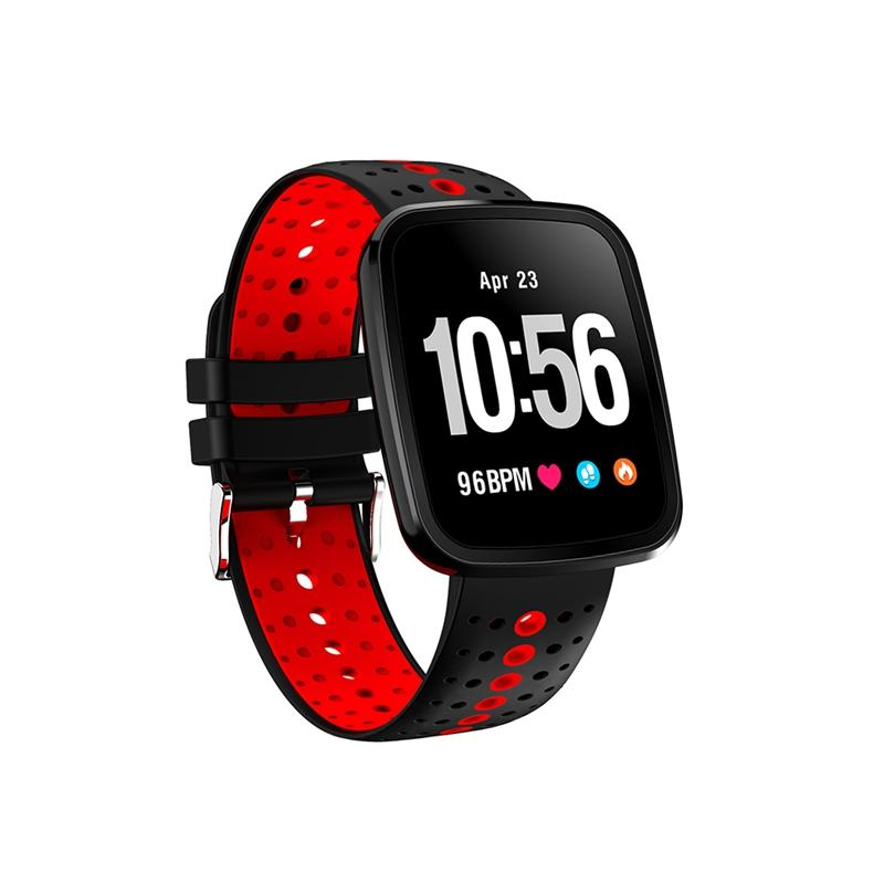 Sport Watch Smart Bracelet Waterproof Heart Rate Blood Pressure Sleep Monitoring Smartwatch Wrist Smart Watch for IPhone and Android Phone