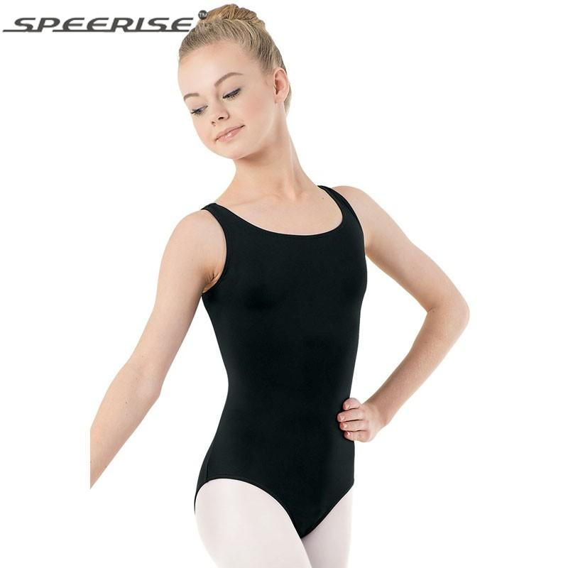 c293a7d26 2019 Little Girls Gymnastics Ballet Dance Tank Leotards Children ...