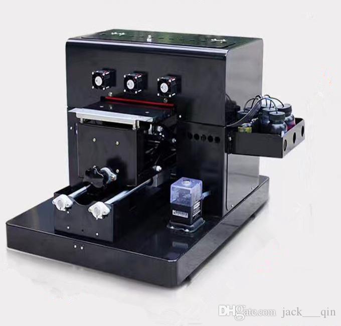 Acheter A4 Uv Imprimante Pour Tlphone Portable Manteau Carte En Plastique Transparent De Visite Impression Machine Plat 16583