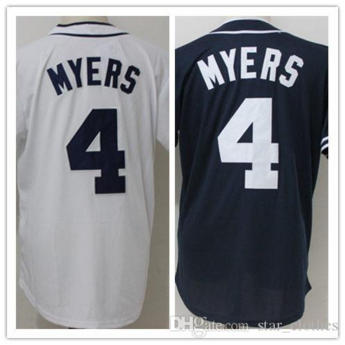 2018 Cheap Baseball Jerseys San Diego 4 Wil Myers Jersey Stitched Baseball  Wear Sports Shirts Size M 3xl From Star clothes 88755e5c6
