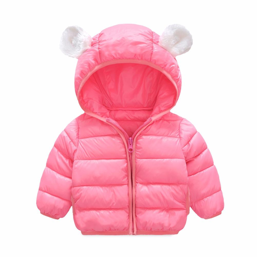 9eebbd5dea67 2018 New Kids Toddler Boys Girl Coat Children Outerwear Clothing ...
