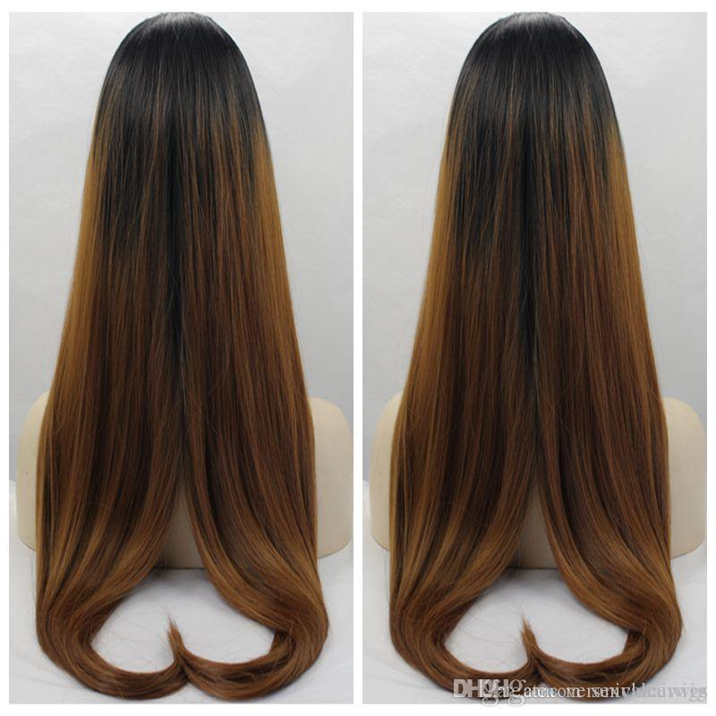 Lovely Cute Ombre Brown 30# Silky Straight